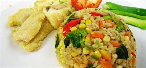 resep membuat nasi goreng vegetarian resep nasi goreng vegetarian kabarkuliner com