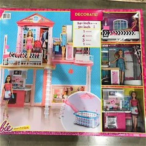 3 story doll house new mattel barbie house 2 story 3 dolls girl dream