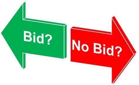 bid bid how to qualify tenders guide to a bid or no bid