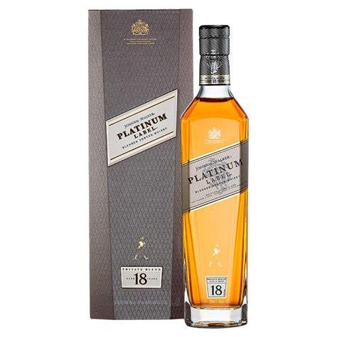 best johnnie walker whiskey johnnie walker platinum label 18 year whisky 70cl