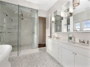 white bathroom decorating ideas all white master bathroom ideas thelakehouseva