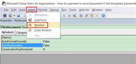 remove vba module password remove excel workbook password using hex editor best