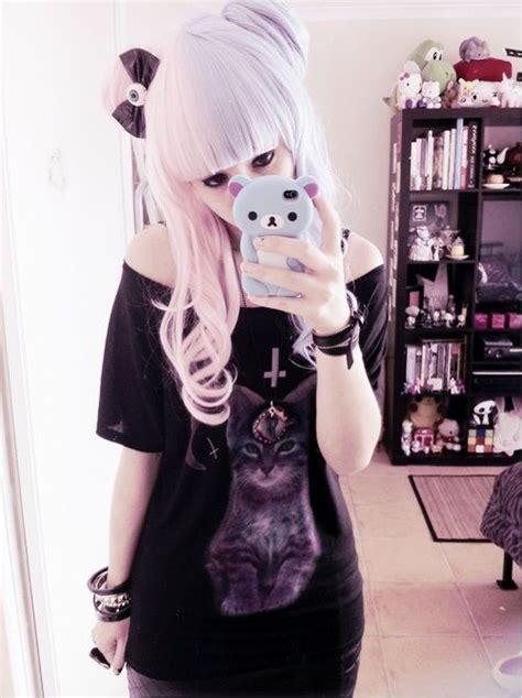 kawaii pastel goth fashion tumblr pastel goth outfit ideas pinterest