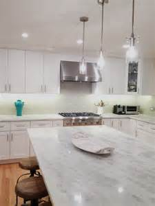 How To Install Subway Tile Backsplash Kitchen Elegant Quartzite Countertop Kitchenartistic Stone Kitchen