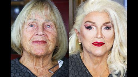 oma makeover challenge  jaehrige makeup transformation