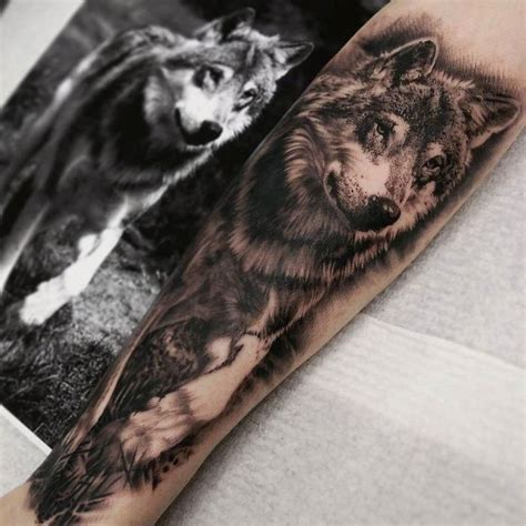 black wolf tattoo 57 best wolf tattoos pictures and ideas