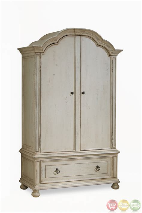 whitewash armoire provenance country whitewash finish wardrobe armoire