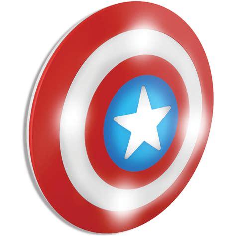 marvel 3d wall light captain america shield iwoot