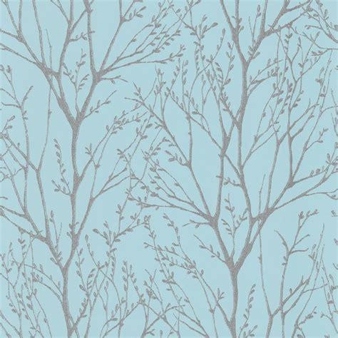 wallpaper tree design uk shimmer tree wallpaper teal silver ilw980006 from