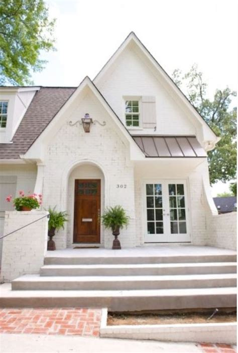 post detail misc house ideas pinterest white painted brick on cute tudor home huge wide porch