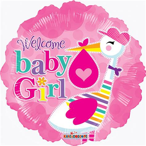 Welcome Baby Shower by 18 Quot Welcome Baby For Baby Shower Pink Foil Mylar