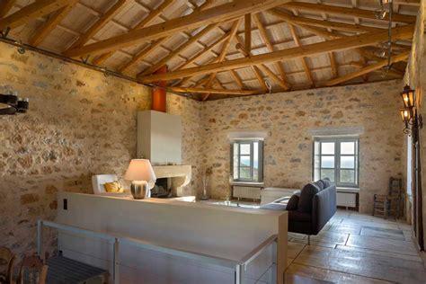 stone house  mani  hhharchitects  greek foundation