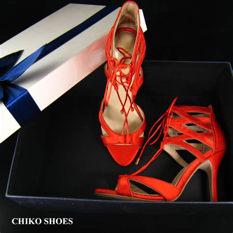 New Arrival Best Seller Sandal Chanel 1128 2 chiko shoes lace up sandal