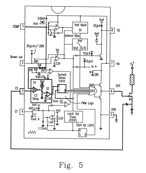 integrated circuit topography define patent us6639483 pulse width modulation integrated