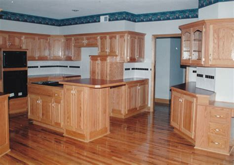 red oak cabinets kitchen custom kitchen cabinets kansas city