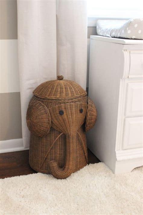 Nursery Laundry Her Basket Elephant 3 Blind Mice Laundry Nursery