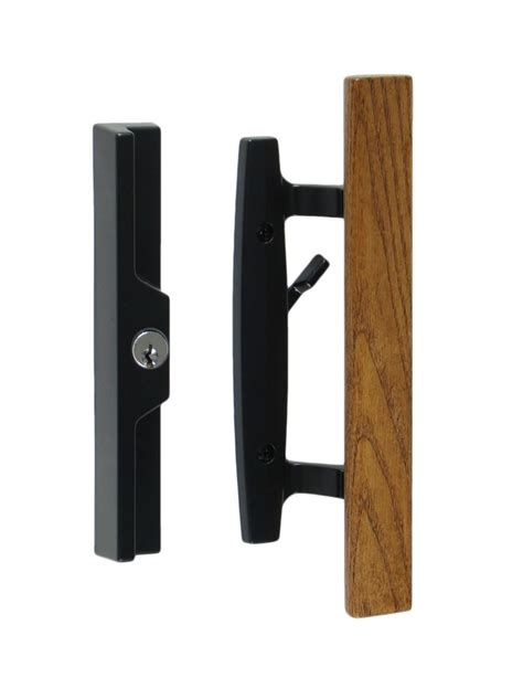 Lanai Sliding Glass Patio Door Handle Pull Set Sliding Aluminium Patio Door Replacement Handles