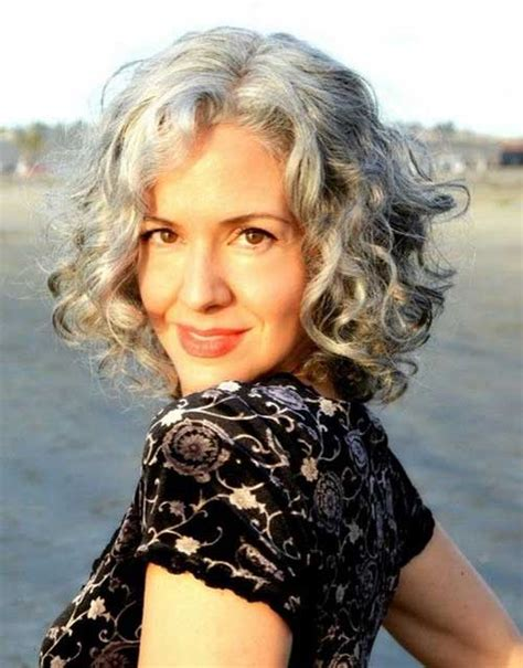 hairstyles for thick grey wavy hair 25 best curly short hairstyles 2014 2015 short