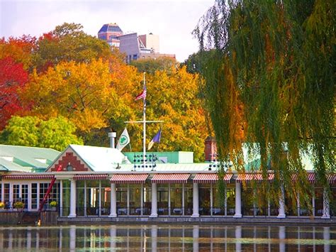boat house restaurant central park ny central park boathouse restaurant autumn 2006 i photo new york