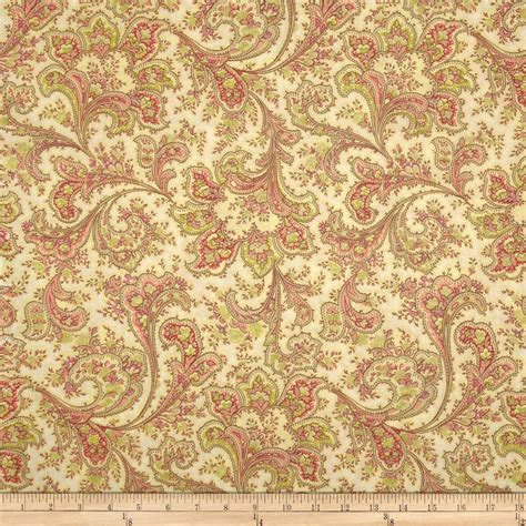Wide Quilting Fabric by 108 Quot Wide Quilt Back Rosemont Malabar Ivory Discount
