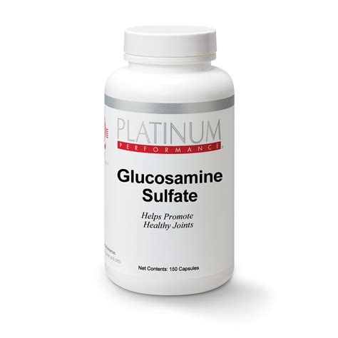 how much glucosamine for dogs canine glucosamine sulfate platinum performance