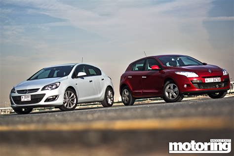 opel renault twin test opel astra vs renault megane motoring middle