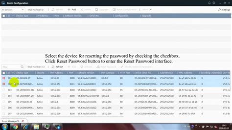 password reset tool hikvision how to reset a password on a hikvision device using the
