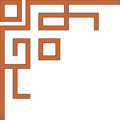 corner pattern png free vector graphic decorations design pattern free