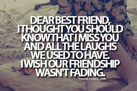 Broken Friendship Quotes and Sayings   Miss My Bff Sayings