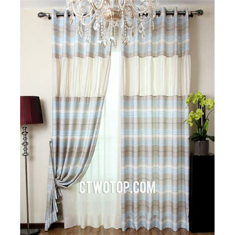 blue and beige curtains brown and blue curtains blue and brown curtains home