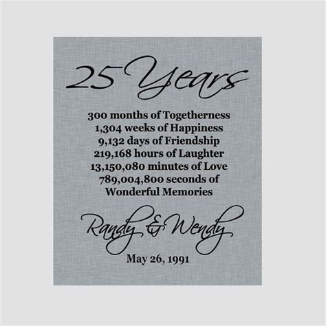 Wedding Anniversary Quotes Pdf by 25 Best 25th Anniversary Quotes On 25th