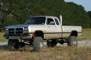 1st Generation Dodge Cummins Lifted 1st With Stacks Cummins