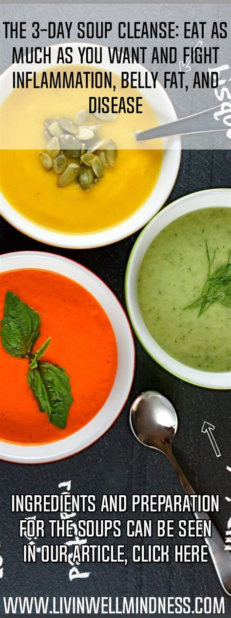Belly Detox Soup by Best 25 Soup Cleanse Ideas On Cabbage Diet