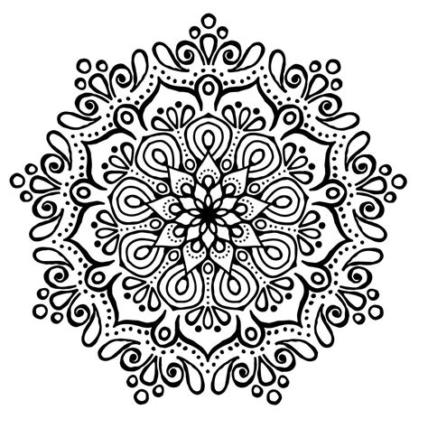 imagenes yoga para colorear mandala para colorear y relajarse concentrarse con tramas