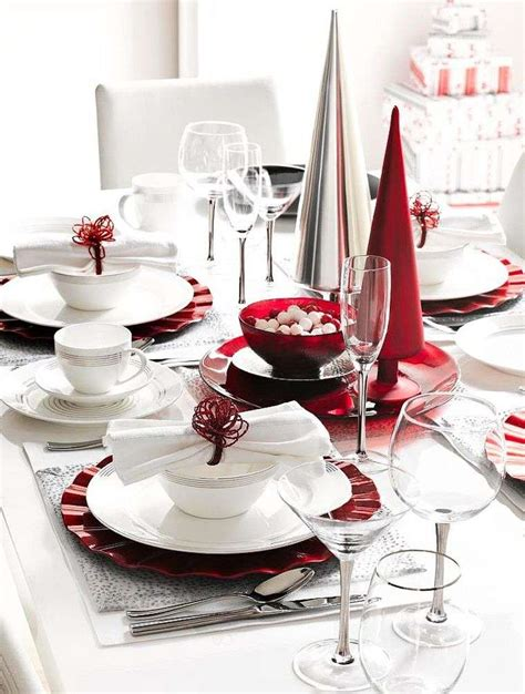 Tisch Eindecken Weihnachten by D 233 Co Table Mariage Et Blanc En 40 Id 233 Es Originales