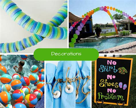 pool party decorations new trend for pool party decorations determining the
