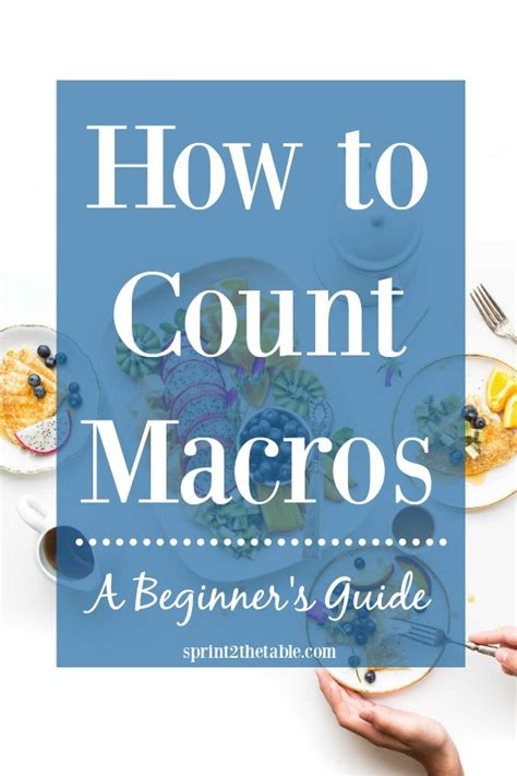 Macro Counting Vs Sugar Detox by How To Count Macros A Beginner S Guide Sprint 2 The Table