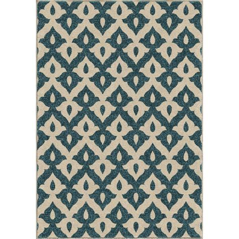 Orian Rugs Sc by Upc 027794355871 Family Crest Blue 5 Ft 2 In X 7 Ft 6