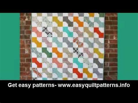 Dimensional Bow Tie Quilt Pattern by Simple Quilting Block Patterns Dimensional Bow Tie Quilt