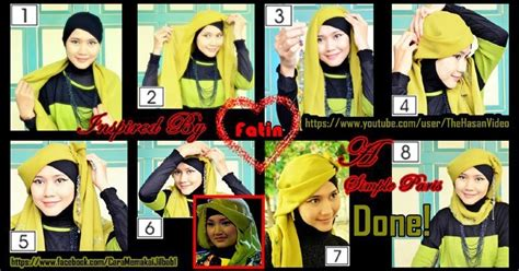 tutorial berhijab ala fatin shidqia tutorial berhijab modern terbaru 2013 cara memakai jilbab