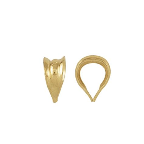 gold gold jewelry bails