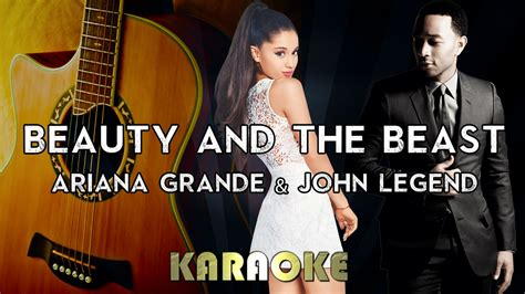 Beauty And The Beast Acoustic Mp3 Download | ariana grande john legend beauty and the beast karaoke