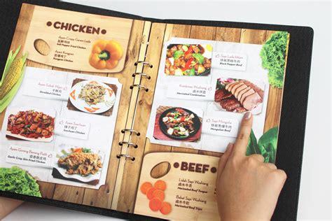 design menu book desain menu fatcow resto the hummingbird design