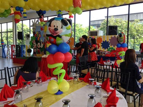 mickey mouse clubhouse centerpiece ideas mickey mouse clubhouse themed kaeden s mickey mouse