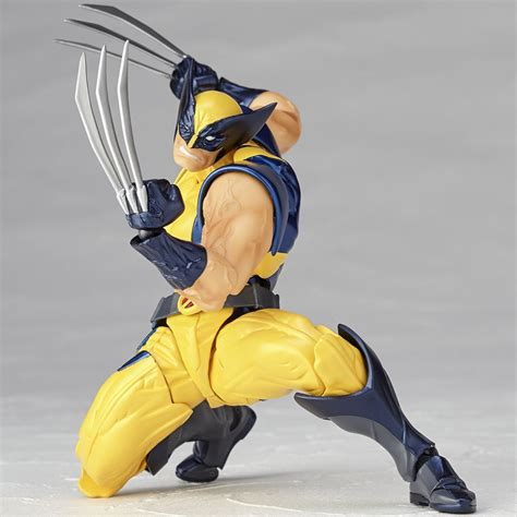 wolverine figure 90s revoltech wolverine figure the awesomer