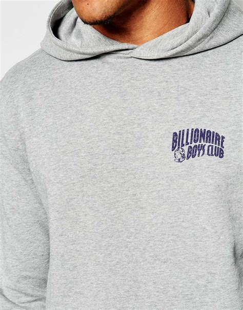 Hoodie Sweater Arch Linux Black Front Logo lyst billionaire boys club hoodie with arch
