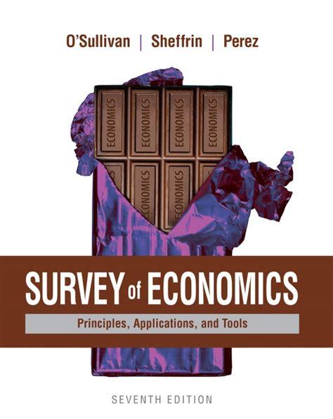 survey of economics o sullivan sheffrin perez instructor s review copy for