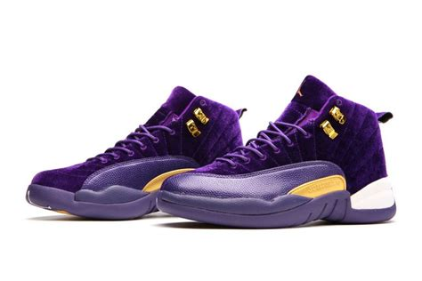 Cheap New by Cheap New Air Jordans 12 Xii Purple Velvet For Sale 2017