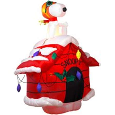 amazon com 7ft airblown inflatable christmas snoopy on