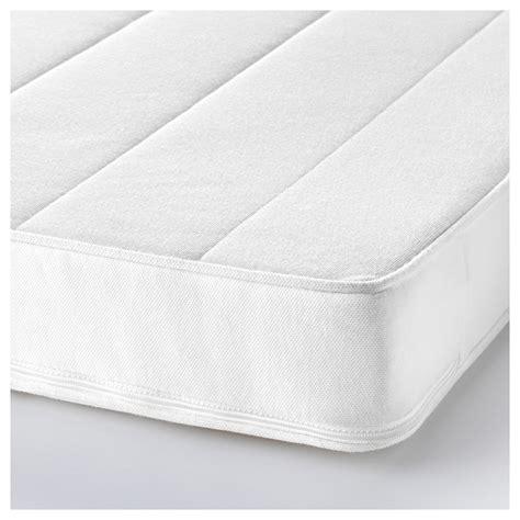 matratze 60x120 ikea vyssa sk 214 nt mattress for cot white 60x120 cm ikea